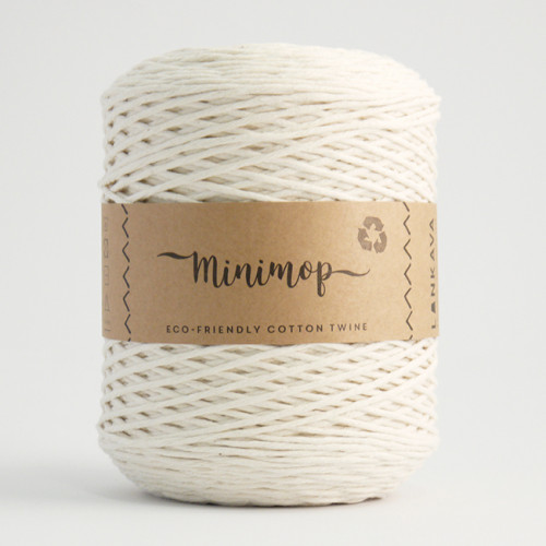 Minimop yarn 52 natural white