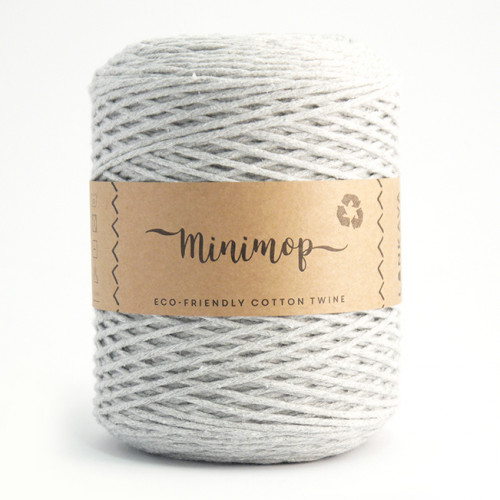 Minimop yarn 66 light grey