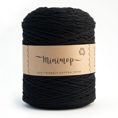 Minimop yarn 70 black