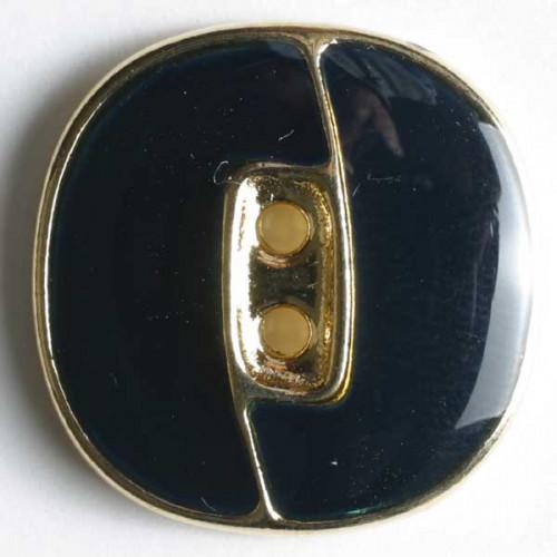 Metallinappi emaloitu 18 mm laivastonsininen