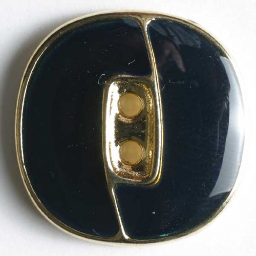 Metallinappi emaloitu  18mm  laivastonsininen - Art.-Nr.: 330097