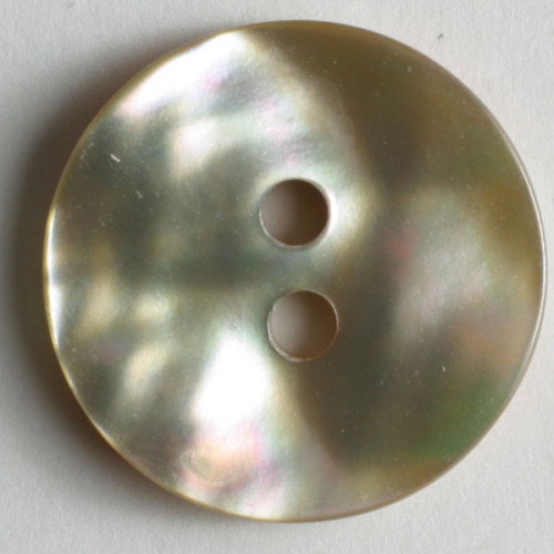 natural pearl button 18mm beige 380140