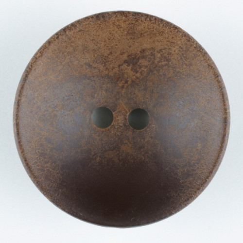 Wood button round 2 holes 23mm brown - Art.-Nr.: 310906