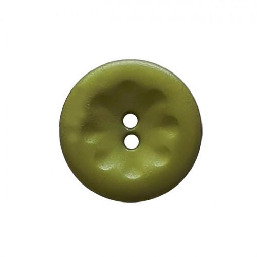 Muovinappi 2 reikää 13mm vihreä - Art.-Nr.: 213812