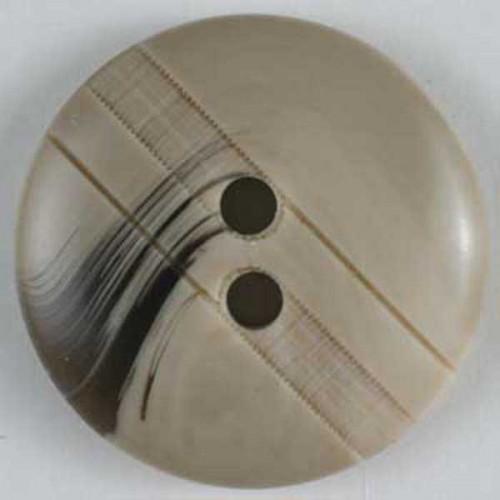 Muovinappi pyöreä 18mm beige - Art.-Nr.: 251474