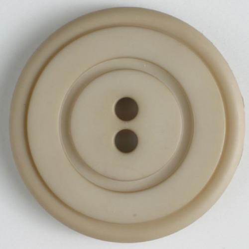 Muovinappi Pyöreä uralla 23mm, beige - Art.-Nr.: 314516