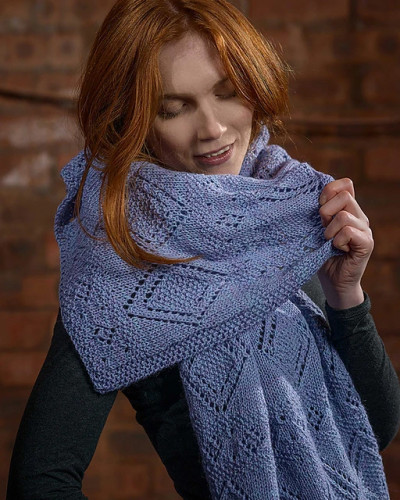 Lace Stole Knitting Pattern PDF EN