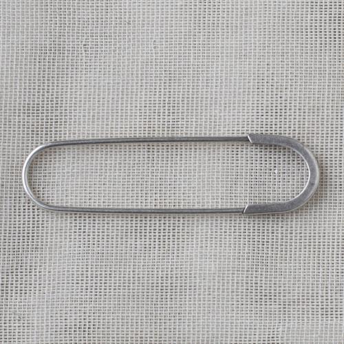 Metal Brooch 6.5cm - 06 silver