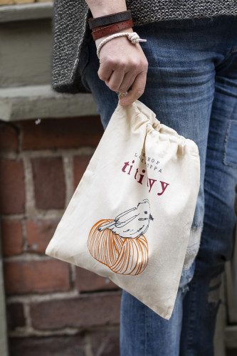 Titityy Cotton Knitting Bag