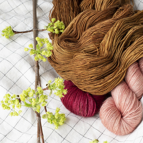Three-color Yarn Set Inspiration for May