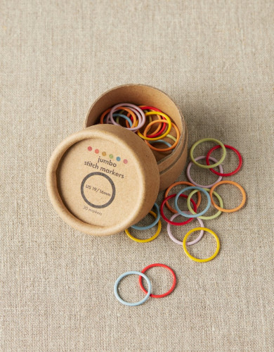 Cocoknits Jumbo Stitch Markers 16mm - Silmukkamerkit