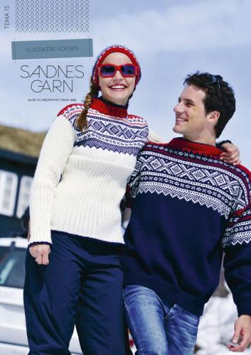 Tema 15 Klassikere Voksen Pattern Booklet in Norwegian