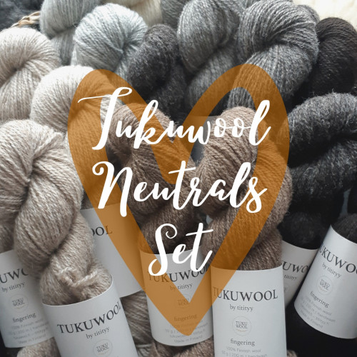 Tukuwool Neutrals Set