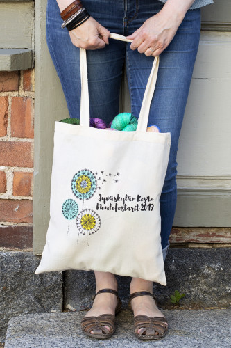Knit Fest 2019 Tote Bag
