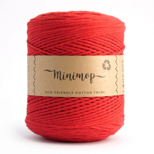 Minimop yarn 64 red