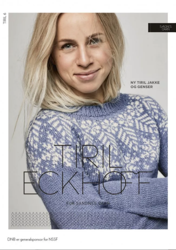 TIRIL 6 Snökrystall Knitting Pattern NO