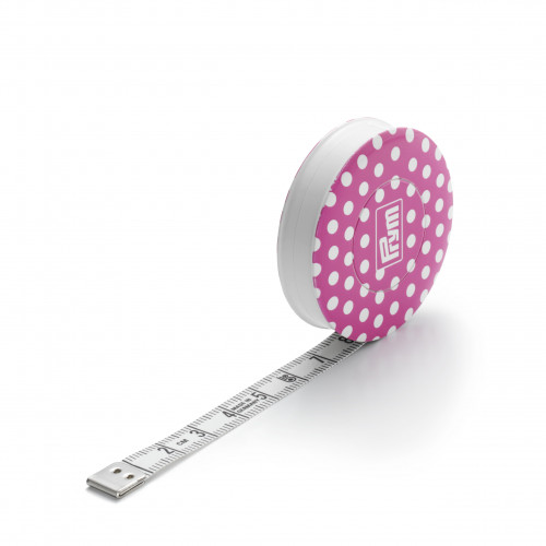 Spring tape measure Prym Love Pink 150cm