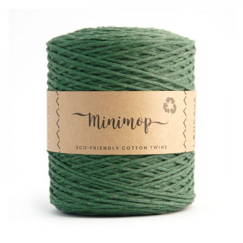 Minimop yarn 61 green