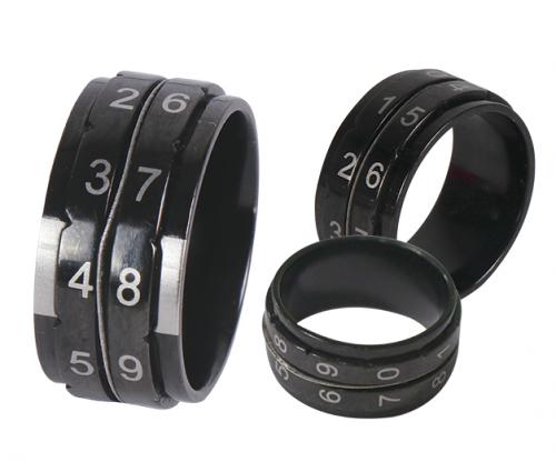 Knit Pro Row Counter Ring -kerroslaskurisormus koko 9 (halk. 19 mm)
