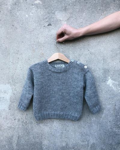 Wilfred's Sweater by PetiteKnit -neuleohje EN