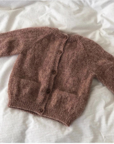 Ellen's Cardigan by PetiteKnit pattern English