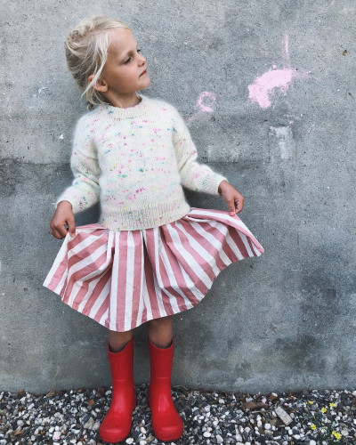 Stockholm Sweater JUNIOR by PetiteKnit -neuleohje EN