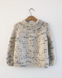 Novice Sweater Junior by PetiteKnit -neuleohje EN