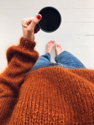Novice Sweater by PetiteKnit -neuleohje EN