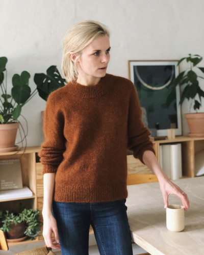 Oslo Sweater by PetiteKnit pattern English