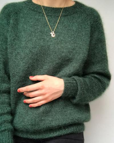 No Frills Sweater by PetiteKnit -neuleohje EN