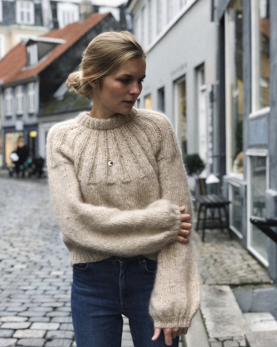 Sunday SWEATER by PetiteKnit -neuleohje EN