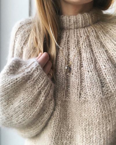 Sunday Sweater by PetiteKnit pattern English