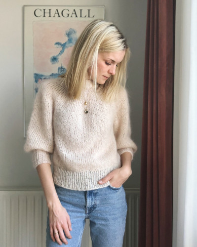 Saturday Night Sweater by PetiteKnit pattern English