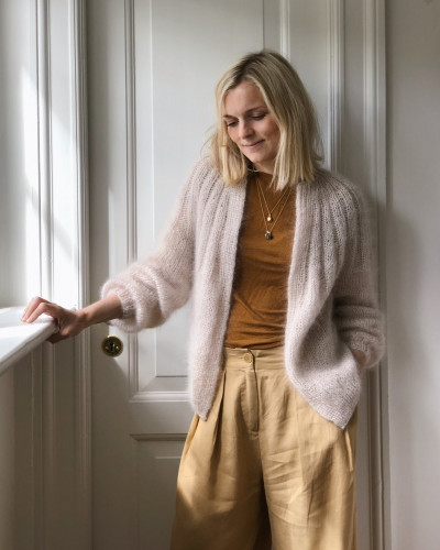 Sunday Cardigan - Mohair Edition by PetiteKnit pattern English