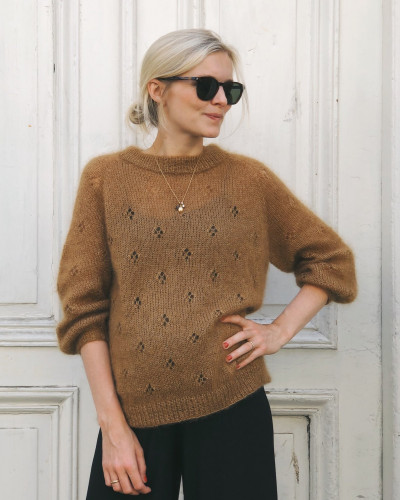 Fortune Sweater by PetiteKnit pattern English