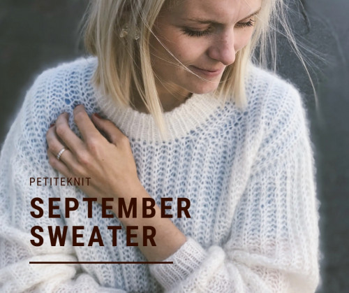 September SWEATER by PetiteKnit -neuleohje EN