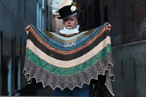 Shawl Evolution by Stephen West - Sunday May 3 at 12-15