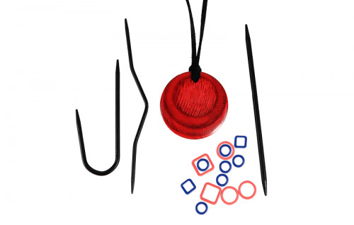 Magnetic Knitter's Necklace Kit Cherry Knit Pro