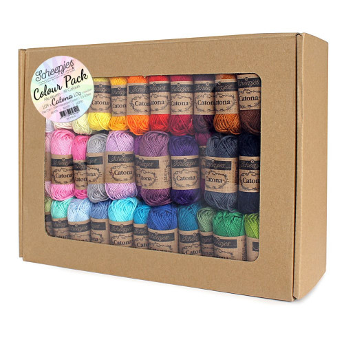 Scheepjes Catona Colour Pack 109x10g