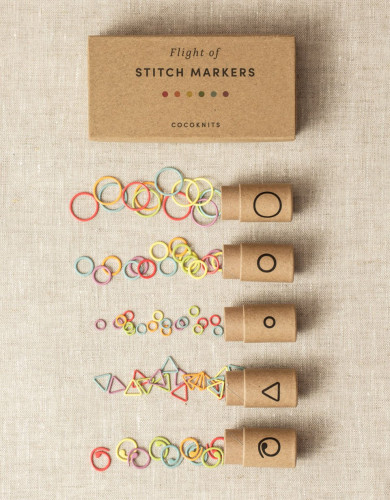 Cocoknits Flight of Stitch Markers - silmukkamerkkisetti