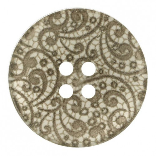 Vintage Lace Button 22.5mm
