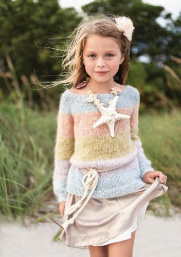 Free Rainbow Sweater Pattern for Kids!