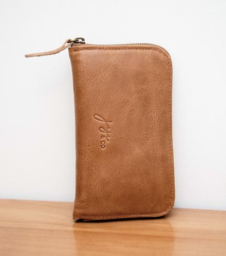 Joji & Co. FIX Needle Wallet brown