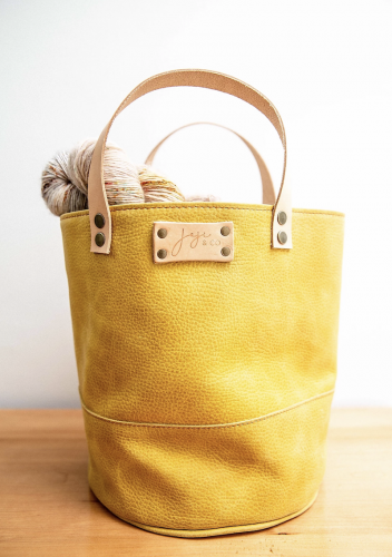 Joji & Co. PAMPA Bucket Bag Mustard