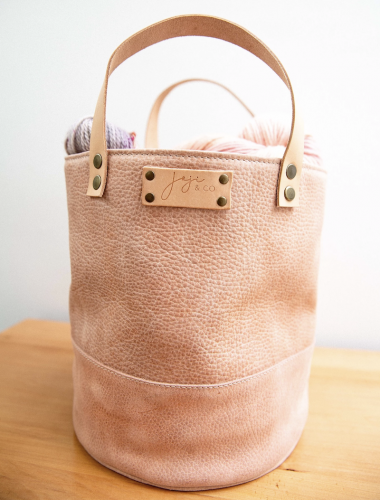 Joji & Co. PAMPA Bucket Bag Dusty Pink