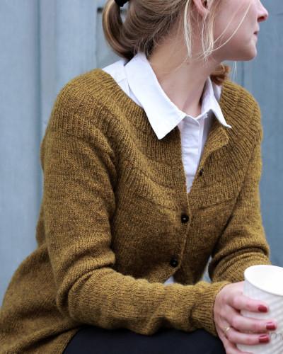 Anker's Cardigan my Size by PetiteKnit -neuleohje EN