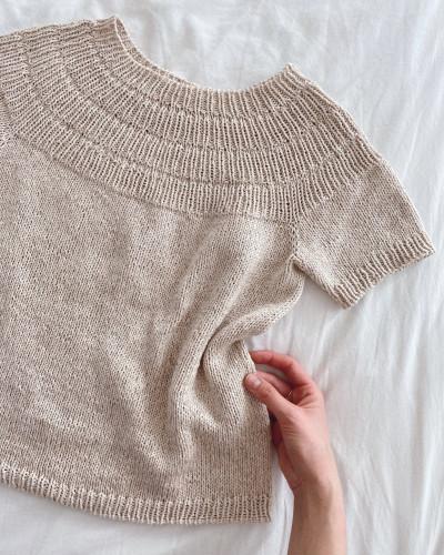 Anker's Summer Shirt by PetiteKnit -neuleohje EN
