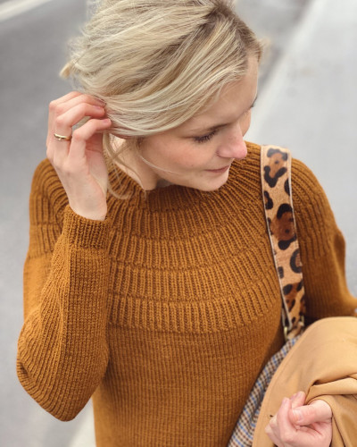 Anker's Sweater My Size by PetiteKnit pattern English
