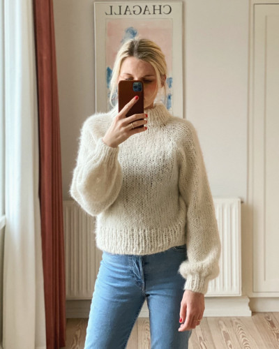 Louisiana Sweater by PetiteKnit PDF pattern English