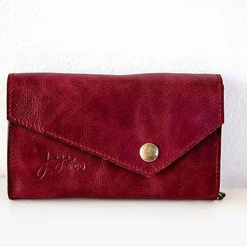 Joji & Co. IC Needle Wallet Burgundy